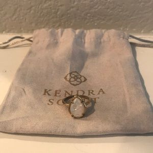 Kendra Scott Opal Ring Size 8